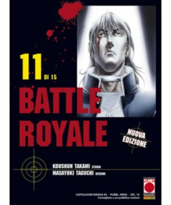 Battle Royale - N° 11 - Battle Royale (M15) - Capolavori Manga Planet Manga