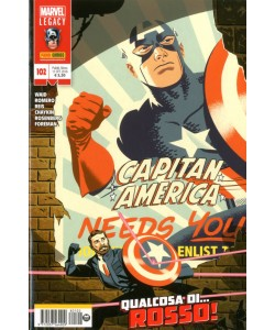 Capitan America (Nuova Serie) - N° 102 - Capitan America - Marvel Italia