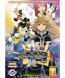 Kingdom Hearts Ii - N° 7 - Kingdom Hearts Ii - Planet Manga