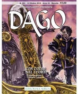 Dago Anno 22 In Poi - N° 263 - Con L'Odio Nel Cuore - Nuovifumetti Presenta Editoriale Aurea