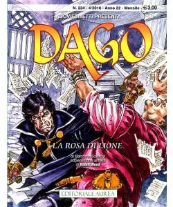 Dago Anno 22 In Poi  - N° 234 - La Rosa Di Lione -