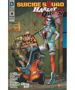 Suicide Squad - Harley Quinn - Fumetto DC Comics Arkham Manor numero 3