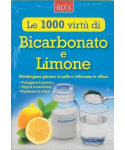 Le mille virtù di Bicarbonato e Limone - edizioni RIZA
