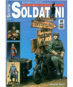 """Soldatini """"TECNICHE-COLLEZIONISM -STORIA""""- Bimestrale n.114 Sett./Ott. 2015"""