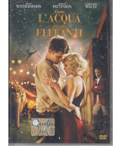 Come l'acqua per gli elefanti - Robert Pattinson - DVD