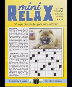 Mini Relax- n. 1905 - settimanale - 27/11/2018