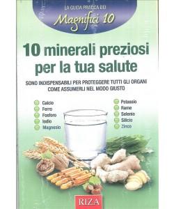 10 minerali preziosi per la tua salute - Edizioni riza