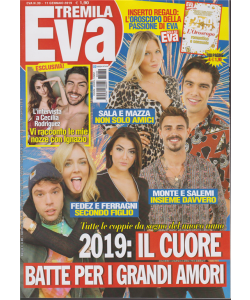 Eva 3000 - n. 39 - 11 gennaio 2019 - settimanale
