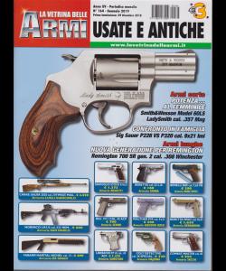 La Vetrina Delle Armi usate e antiche - n. 164 - gennaio 2019 - mensile