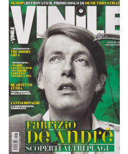 Vinile - De Andre' - n. 17 - bimestrale - gennaio - febbraio 2019 -