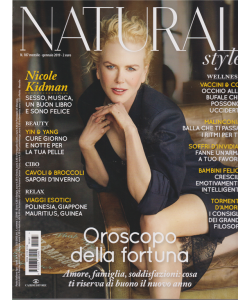 Natural style - n. 187 - mensile - gennaio 2019 -