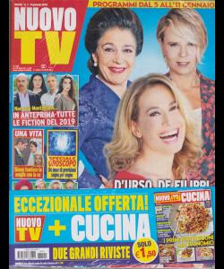 Nuovo Tv + - Nuovo Cucina - n. 1 - 8 gennaio 2019 - settimanale - 2 riviste