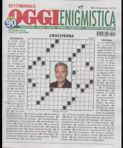 Settimanale Oggi Enigmistica - n. 1 - 9 gennaio 2019 -