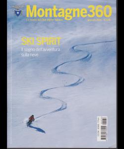 Montagne 360 - n. 76 - gennaio 2019 - mensile