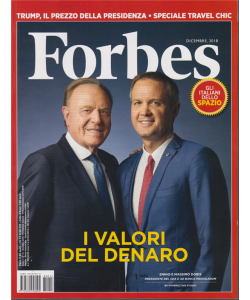Forbes - n. 14 - dicembre 2018 - mensile