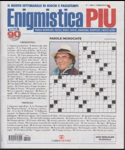 Enigmistica Più - n. 1 - 9 gennaio 2019 - settimanale