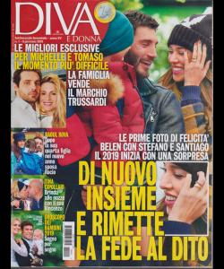 Diva E Donna  n. 1 - settimanale femminile - 8 gennaio 2019