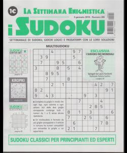 La settimana enigmistica - i sudoku - n. 24 - 3 gennaio 2019 - settimanale