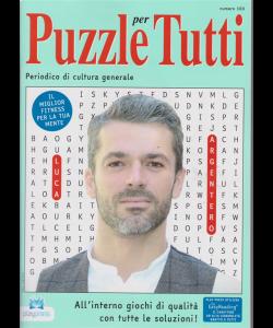 Puzzle per tutti - n. 100 - bimestrale - 3/1/2019 - Luca Argentero