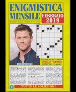 Enigmistica  Mensile - n. 78 - mensile - febbraio 2019 -