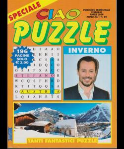 Speciale ciao puzzle inverno - n. 80 - trimestrale - febbraio - aprile 2019 - 196 pagine
