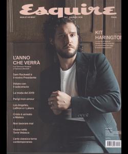 Esquire - n. 2 - gennaio 2019 - bimestrale -