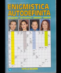 Enigmistica Autodefinita - mensile - n. 348 - febbraio 2019 -
