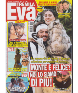 Eva 3000 - n. 1 - 11/1/2019 - settimanale