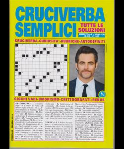 Cruciverba Semplici - n. 86 - bimestrale - febbraio - marzo 2019 -