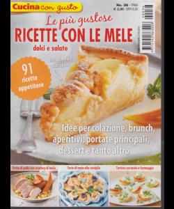 Cucina Con Gusto - Ricette Con Le Mele dolci e salate - n. 36 - trimestrale - 17/1/2019