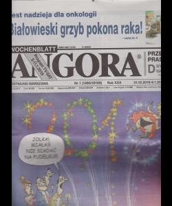 Angora - n. 1 - 31/12/2018 - 6/1/2019 - in lingua polacca