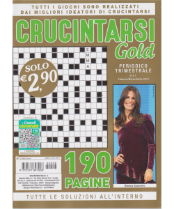 Crucintarsi Gold - n. 8 - trimestrale - febbraio/marzo/aprile 2019 - 190 pagine