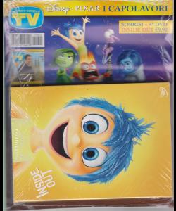 Sorrisi Speciale Dvd  - Inside out - 4° dvd - I capolavori Disney - Pixar - 2019