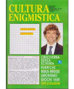 Cultura Enigmistica - n. 308 - mensile - febbraio 2019 -