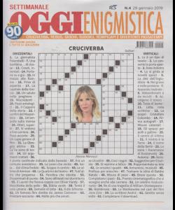 Settimanale Oggi Enigmistica - n. 4 - 29 gennaio 2019 -