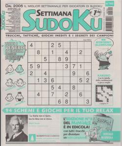 Settimana sudoku - n. 702 - settimanale - 25 gennaio 2019 -