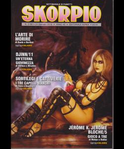 Skorpio - n. 2186 - 24 gennaio 2019 - settimanale di fumetti