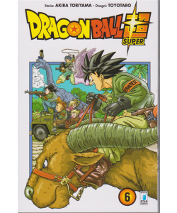 Dragon Ball super 6 - mensile - febbraio 2019 -