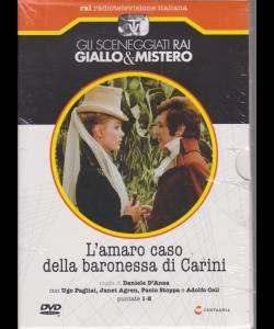 Gli sceneggiati rai giallo & Mistero - L'amaro caso della baronessa di Carini - puntate 1-2 - settimanale