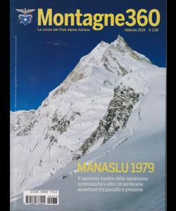 Montagne 360 - n. 77 - febbraio 2019 -