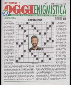 Settimanale Oggi Enigmistica - n. 5 - 5 febbraio 2019 -