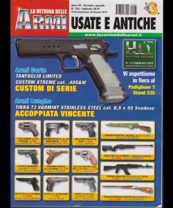 La Vetrina Delle Armi usate e antiche - n. 165 - febbraio 2019 - mensile