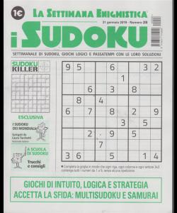 La settimana enigmistica i sudoku - n. 28 - 31 gennaio 2019 - settimanale