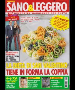 Sano & leggero - n. 2 - febbraio 2019 - mensile