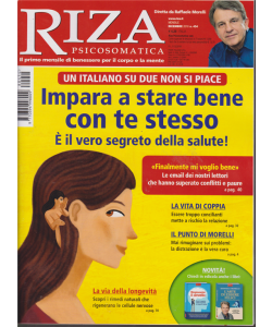Riza Psicosomatica  n. 454 - dicembre 2018 - mensile -