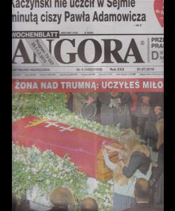 Angora - n. 4 - 21-27/2019 - in lingua polacca