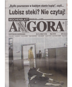Angora - n. 5 - 28-1 - 3 - 2 - 2019 - in lingua polacca