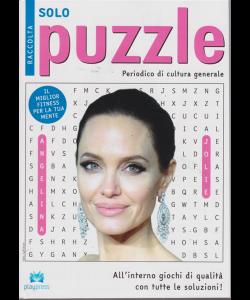 Raccolta solo puzzle - n. 55 - bimestrale - 31/1/2019 - Angelina Jolie