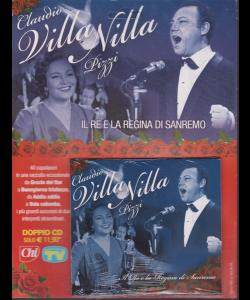 Cd Sorrisi Speciale - n- 6 - Claudio Villa e Nilla Pizzi - 5/2/2019 - settimanale - Il re e la regina di Sanremo - doppio cd