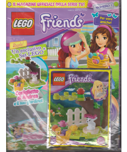Panini Friends - Lego - n. 1 - trimestrale - marzo 2015 -